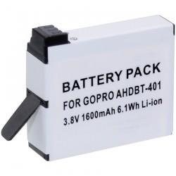 Batterie Li-Ion pour GOPRO 4 Black & Silver.