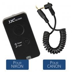 KIT JJC Télécommande Bluetooth ES-898 + Cable - C
