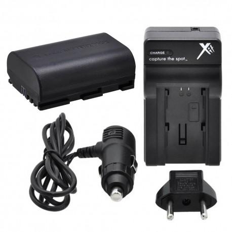 Chargeur + Batterie Lp-E6 pour Canon