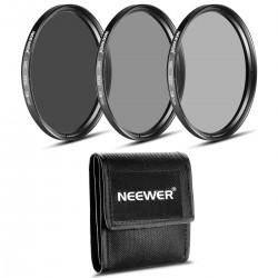 Kit de Filtres Densite Neutre ND2 ND4 ND8